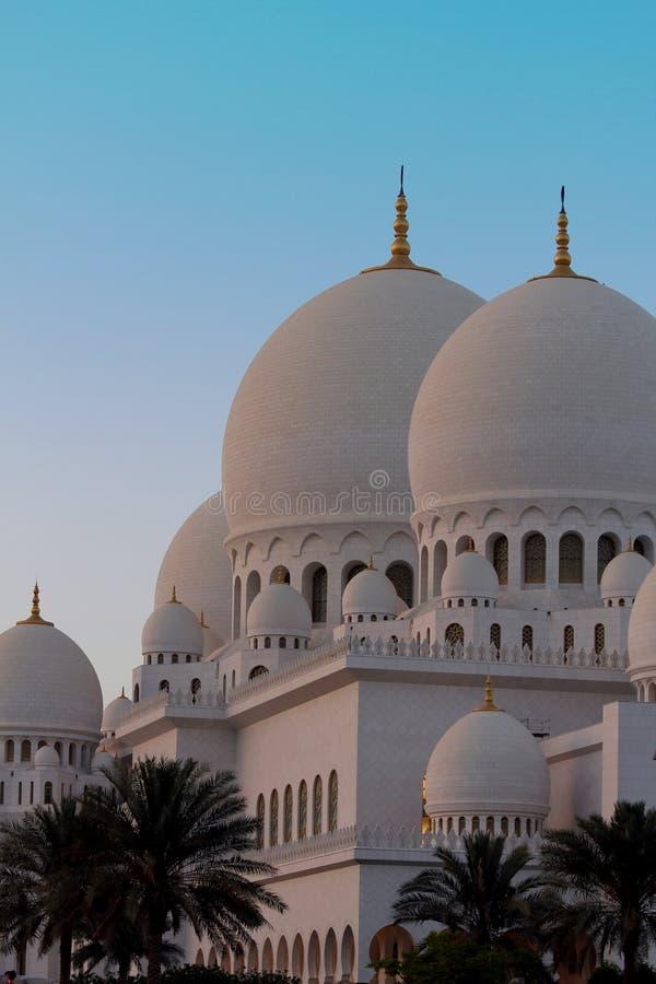 zayed meczetowy sheikh obrazy royalty free