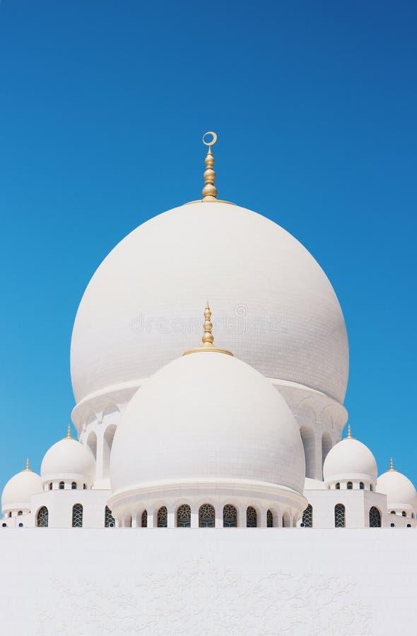 Zayed Mosque en Abu Dhabi images libres de droits