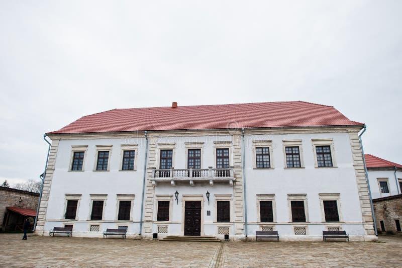 Zbarazh, Ukraine - 24. Juli 2018: Altes Haus oder Museum lizenzfreie stockbilder