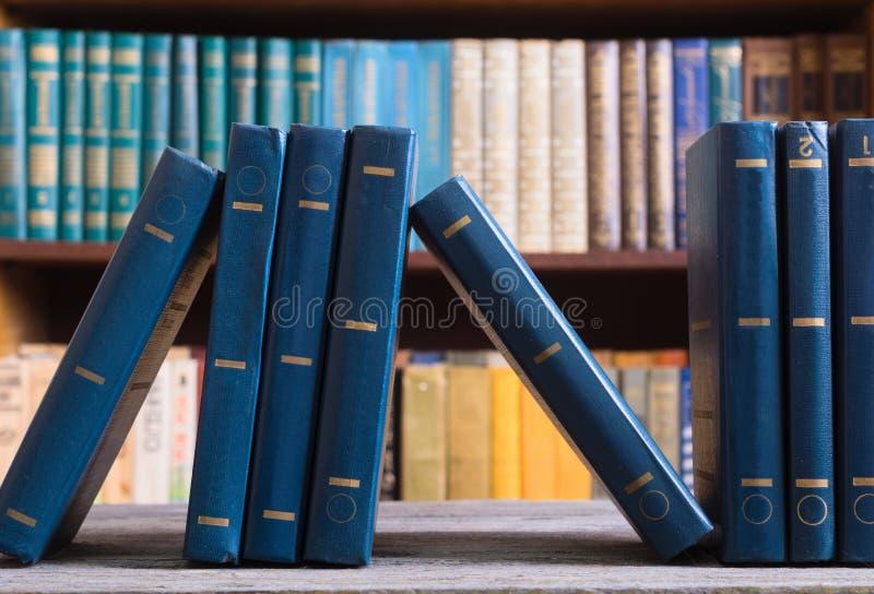 zbiór starej książki zdjęcie royalty free