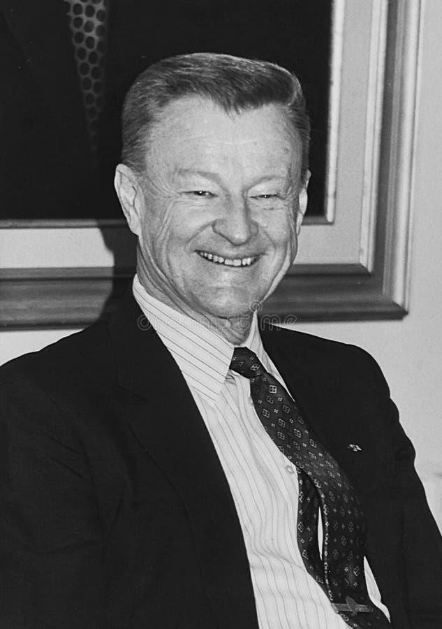 Zbigniew Brzezinski fotografia de stock royalty free