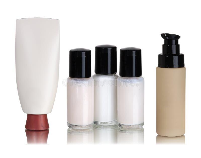 zbiorników kosmetyki obrazy stock