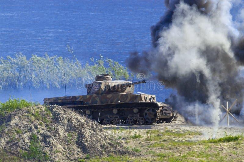 Zbiornik Drugi wojna światowa - Tigr T4 zdjęcie royalty free