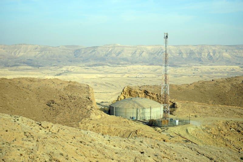 Zbiornik i antena zdjęcie stock