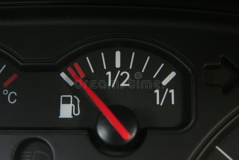 zbiornik paliwa jest pusty zdjęcia stock