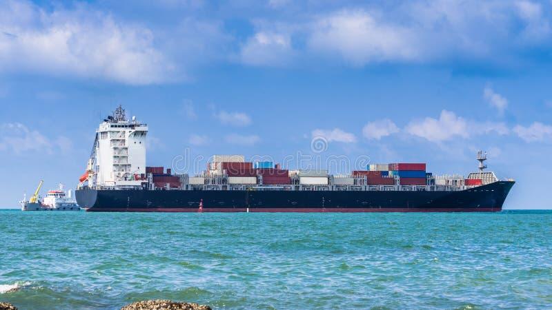 Zbiornika ładunku statek Ogólnego ładunku naczynia obraz royalty free