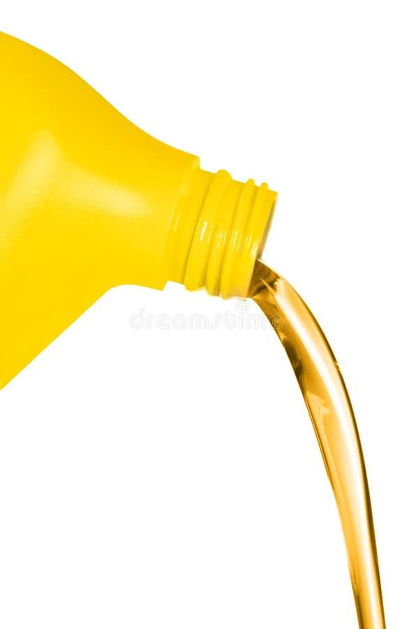 zbiornika spływania olej obraz royalty free