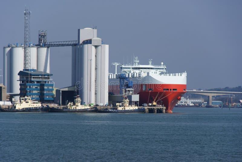 zbiornika statek obrazy stock