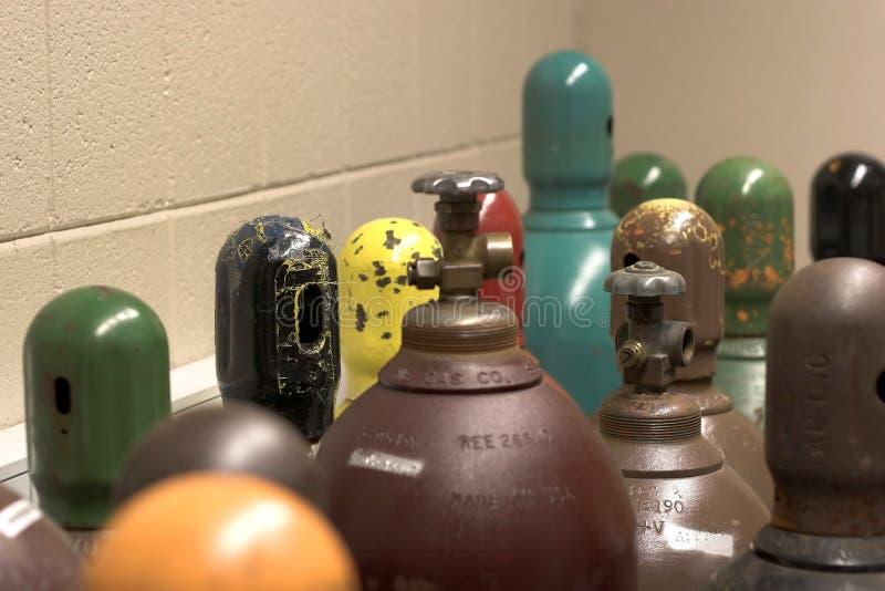 zbiorniki gazu obraz stock