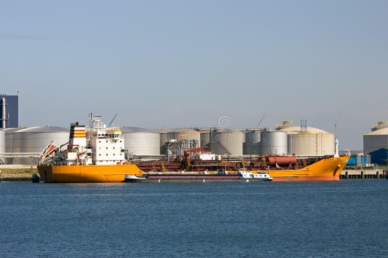Zbiornikowiec do ropy zdjęcie stock