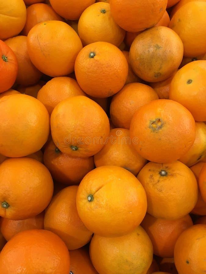 Zbliża wiele pomarańcze fotografia stock
