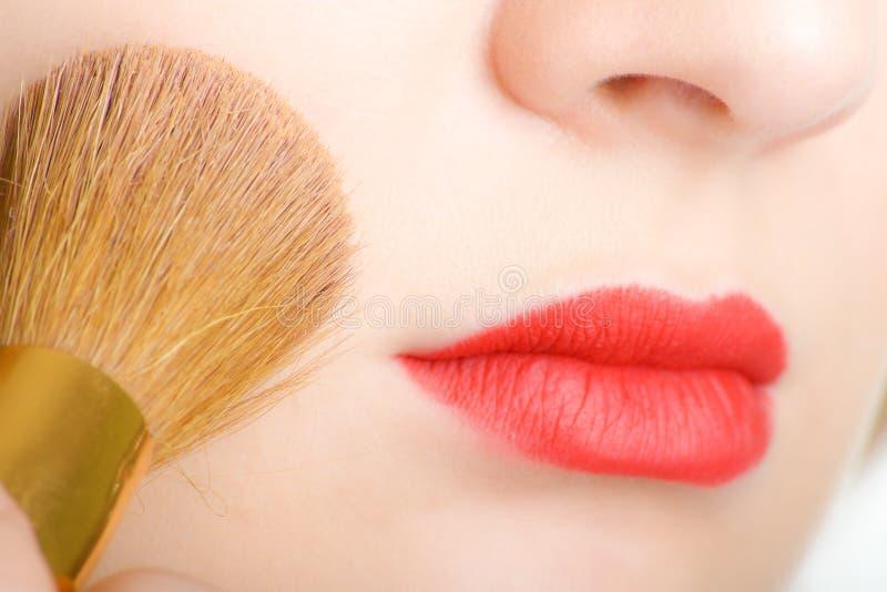 zbliżenia makeup obrazy royalty free