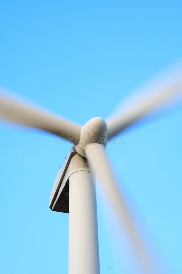 zbliżenia turbina wiatr zdjęcie stock