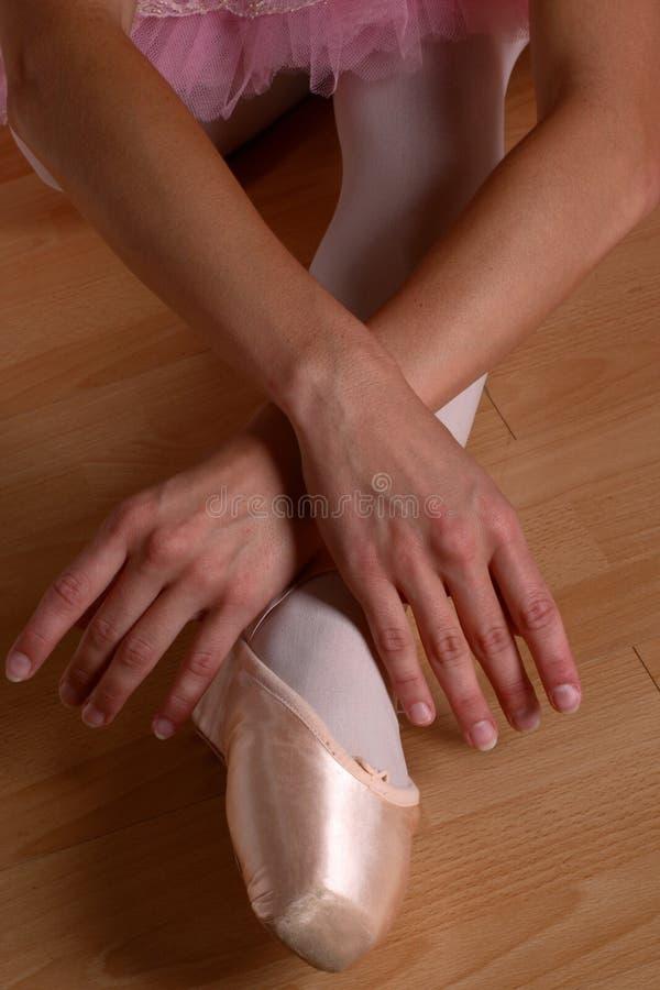 zbliżenie baletnicza odcinka zdjęcie royalty free