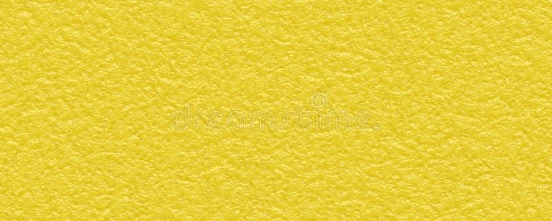 Zbliżenie cytrusa łupy tekstury Żółty tło obraz stock