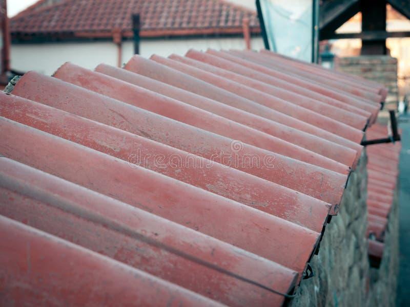 Zbliżenie domowy dach zdjęcia stock