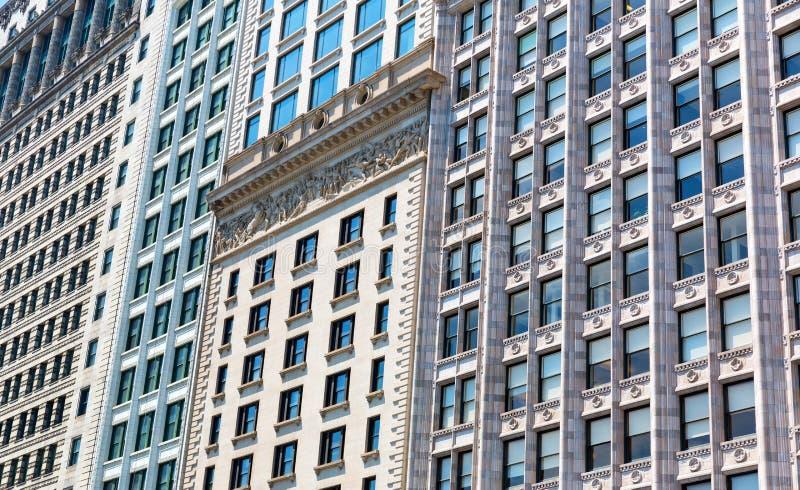 Zbliżenie fasada budynek w retro stylu obraz stock