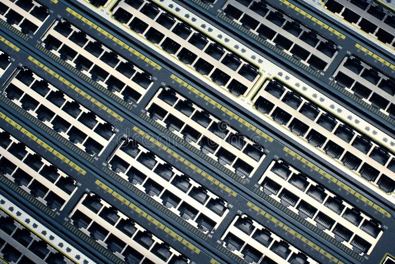 Zbliżenie fotografia router bez kabli, obrazy stock