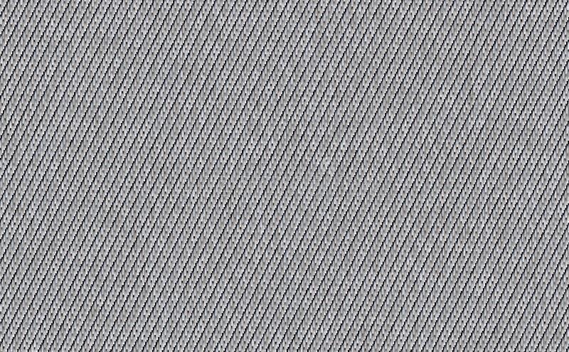 Zbliżenie jasnopopielaty, biały z czarnym kolor tkaniny próbki tekstury tłem Obdziera białego, jasnopopielatego, srebnego tkanina ilustracji