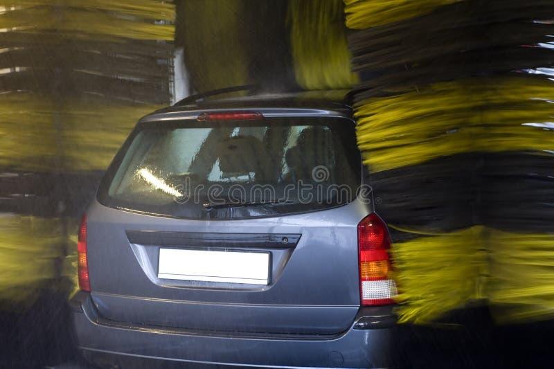 zbliżenie pojazdu samochodowego pranie fotografia stock