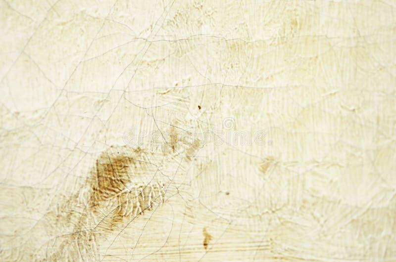 Zbliżenie stary krakingowy olej na brezentowej teksturze mi?kkie ogniska, zdjęcie stock