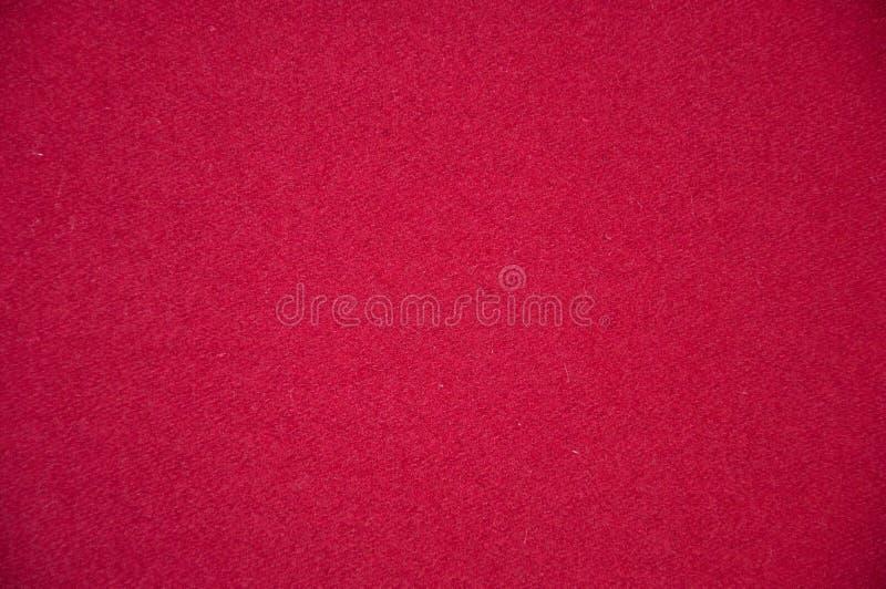 Zbliżenie szczegół czerwony ubraniowy tekstury tło, ilustracja obrazy stock