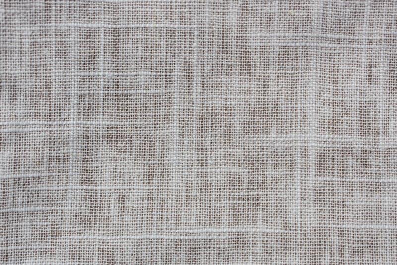 Zbliżenie szczegółu widok kawałek bieliźniany płótno zdjęcie royalty free
