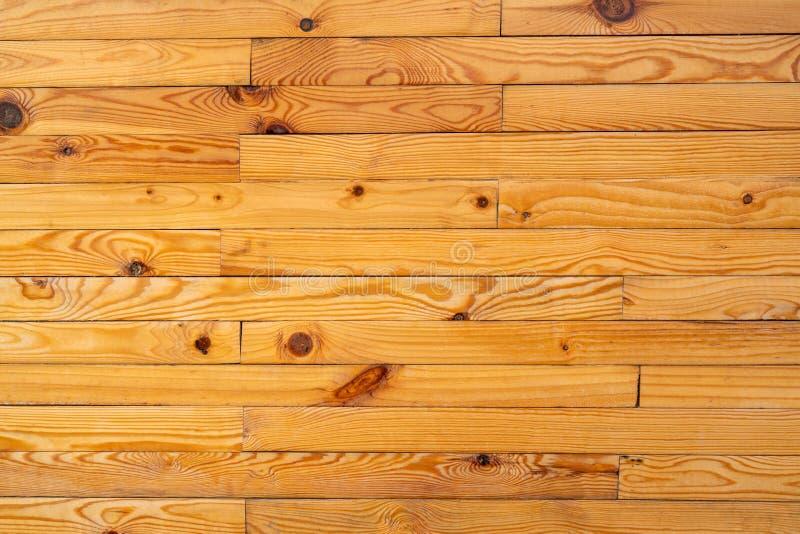Zbliżenie tekstury żółty drewniany tło fotografia royalty free