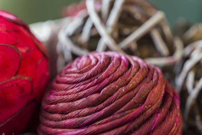 Zbliżenie tekstury i piękni kolory wakacyjni potpourri półdupki obrazy stock