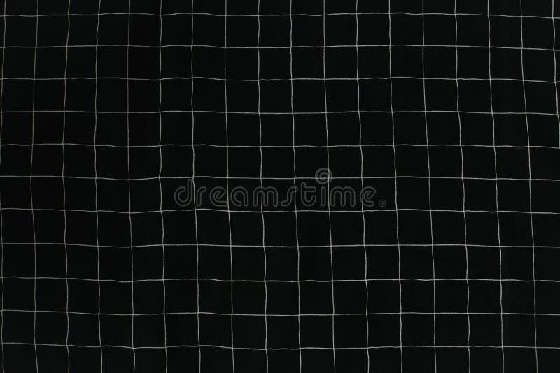 Zbliżenie tkaniny tekstura W kratkę tekstura dla ubraniowych tkanina druków, domowa tkanina obrazy stock