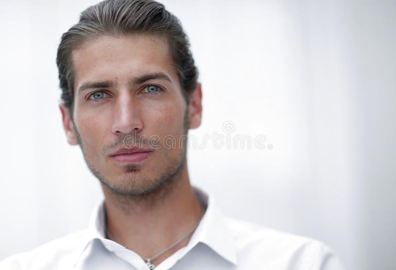 zbliżenie twarz piękna biznesowa osoba obrazy stock