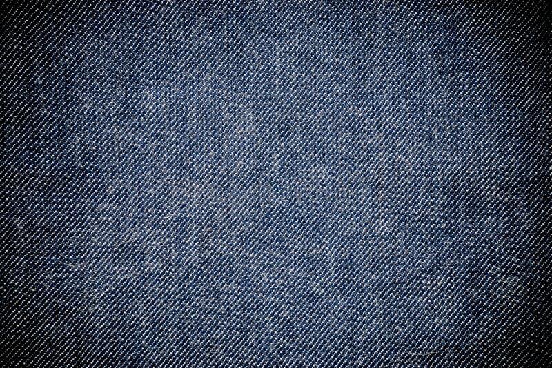 Zbliżenie widok abstrakt przestrzeń pusta niebiescy dżinsy tekstura obraz stock