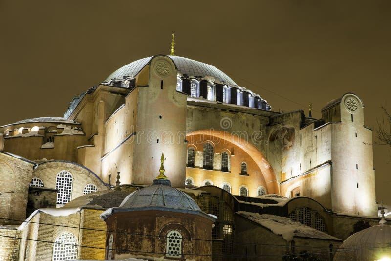 Zbliżenie widok Hagia Sophia, Aya Sofya, muzeum zdjęcia royalty free
