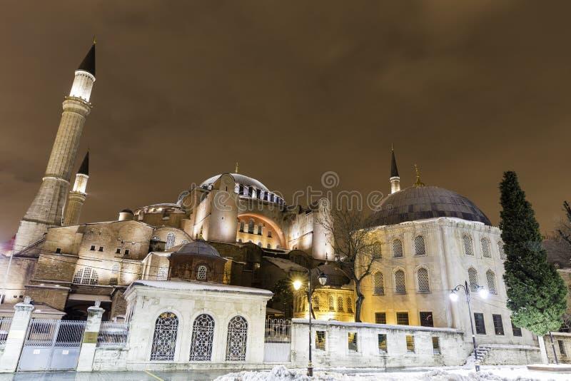 Zbliżenie widok Hagia Sophia, Aya Sofya, muzeum w Istanbuł fotografia royalty free