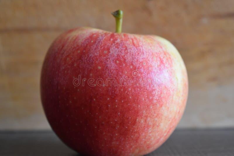 Zbliżenie wyśmienicie czerwony jabłko obraz royalty free