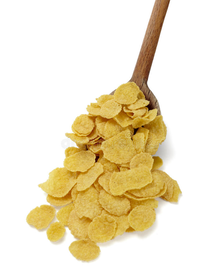 zboży kukurydzany płatków jedzenia muesli fotografia stock