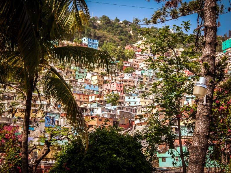 Zbocze w Haiti zdjęcia royalty free