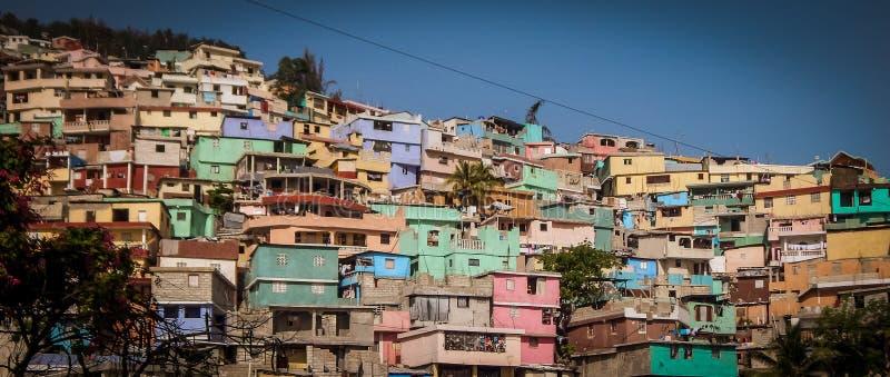Zbocze w Haiti fotografia stock