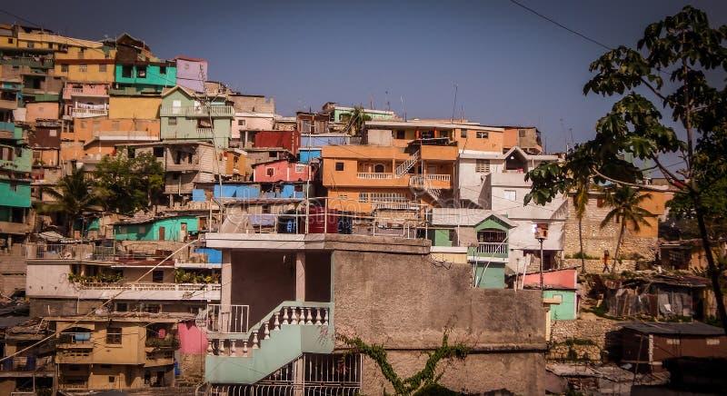 Zbocze w Haiti zdjęcia stock