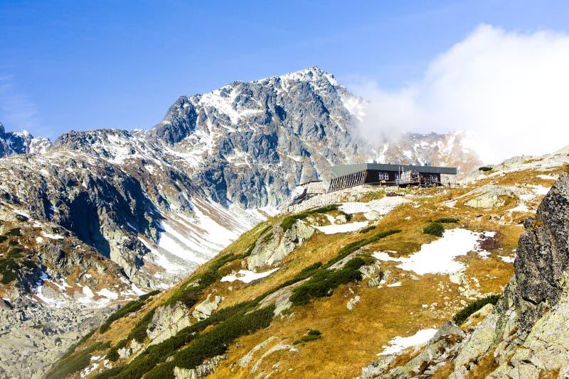 Zbojnicka Cottage, Vysoke Tatry & x28;High Tatras& x29;, Slovakia stock photo