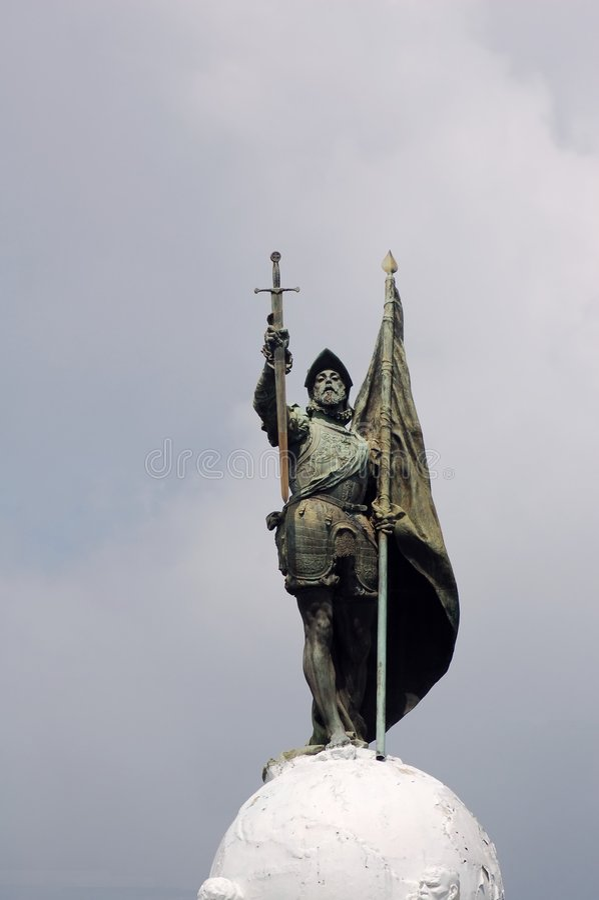 zbroja rycerza posąg fotografia royalty free