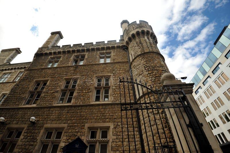 Zbrojownia dom jest xviii wiek dworem w środkowym Londyn, Anglia zdjęcie stock