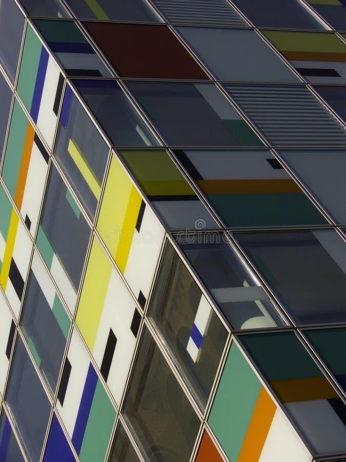 zbudować kolorowego urzędu zdjęcia stock