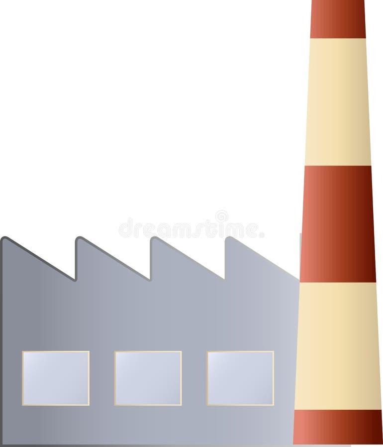 zbudować przemysłowe ilustracja wektor