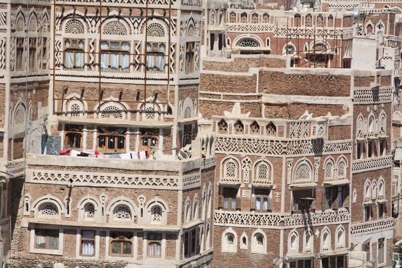 zbudować starego Sanaa zdjęcia stock