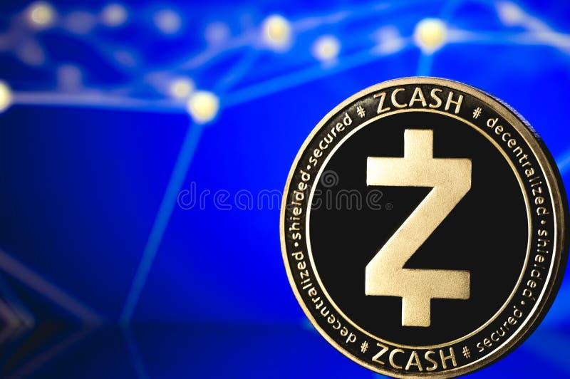 Zcash硬币 库存照片