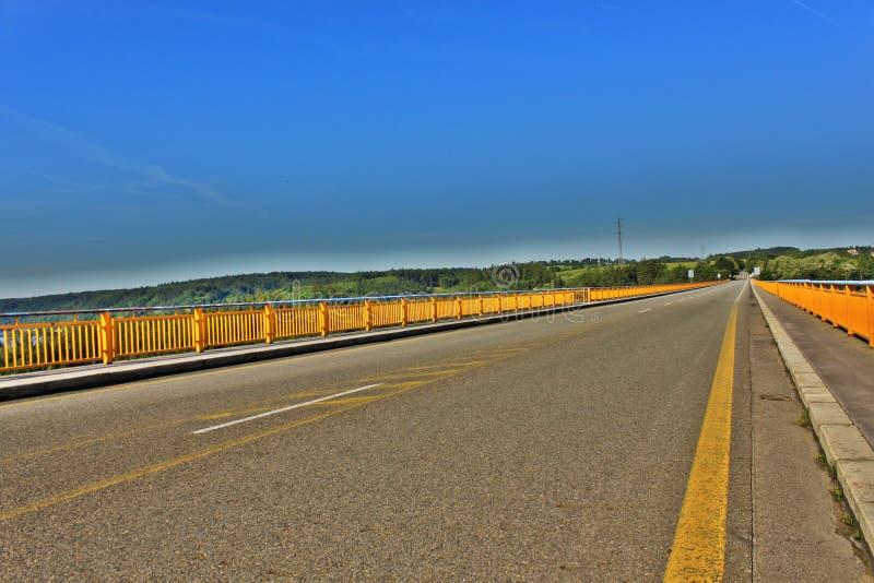 Download Zdakovkov Bridge Over The Dam Orlik Stock Photo - Image: 19783288
