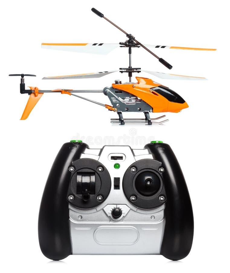 Zdalnie sterowany helikopter obrazy royalty free