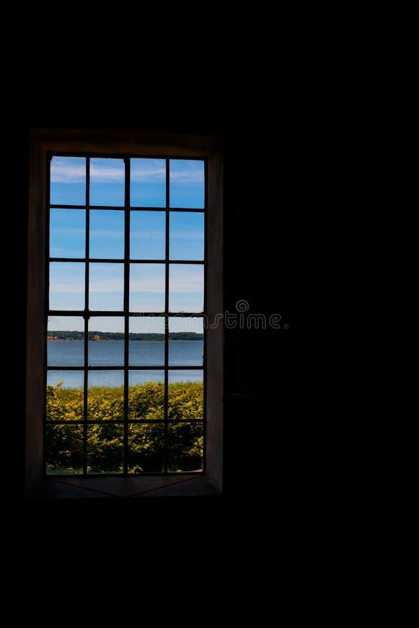 zdaniem okno zdjęcia royalty free