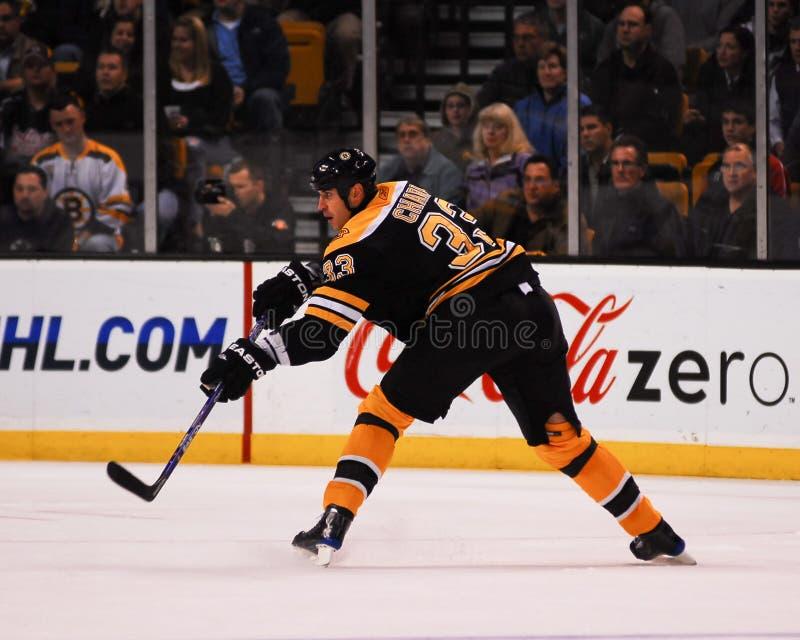 Zdeno-Charaban-Boston Bruins stockbild